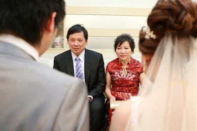 婚禮攝影-拜別父母-婚攝莫門